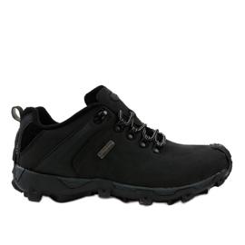 Černá treková obuv MXC-6645