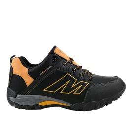 103A černé turistické boty černá