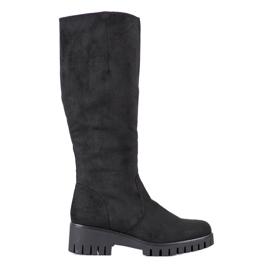 Filippo Boots On Platform černá