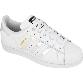 Obuv Adidas Originals Superstar Jr AQ6278 bílá