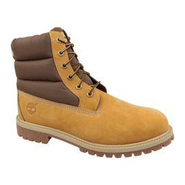 Timberland 6 In Quilit Boot Jr C1790R zimní boty hnědý