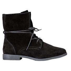 Filippo Klasické kožené boty černá