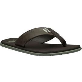 Pantofle Helly Hansen Seasand Leather Sandal M 11495-713 hnědý
