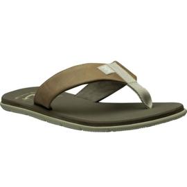 Pantofle Helly Hansen Seasand Leather Sandal M 11495-723 hnědý