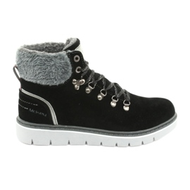 MCKEY 1072 zimní krajkové boty