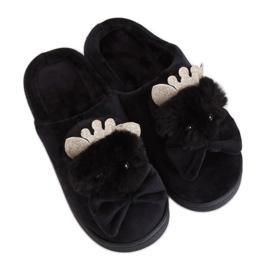 Dámské pantofle DD112 Black černá