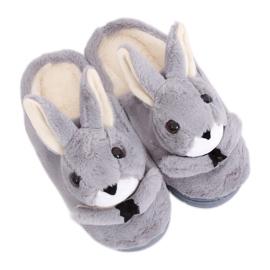 Dámské pantofle MA17 Grey šedá