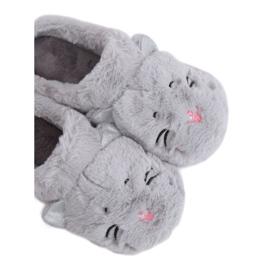 Dámské pantofle MA16 Grey šedá
