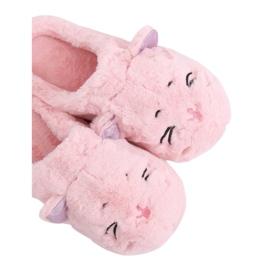 MA16 Pink dámské pantofle Pink růžový