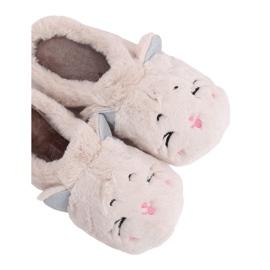Dámské pantofle MA16 Milk White hnědý