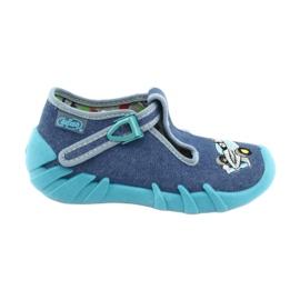 Befado dětské boty 110P320 modrý
