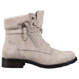 Goodin Béžové boty hnědý