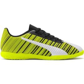 Kopačky Puma One 5.4 It M 105654 04 žlutý bílá, černá, žlutá