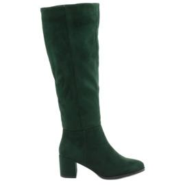 Zelené boty Sergio leone zelená
