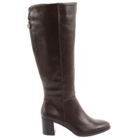 Hnědé boty Sergio Leone hnědý