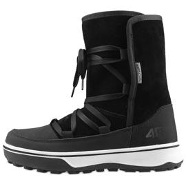 Zimní obuv 4F Z D4Z19-OBDH201 21S černá