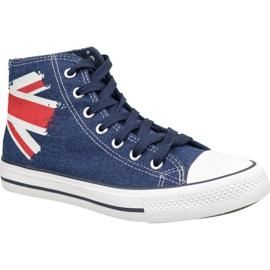 Lee Cooper High Cut 1 LCWL-19-530-041 boty modrý