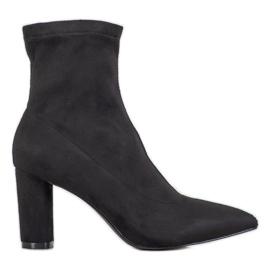 Filippo Stylové slip-on boty černá