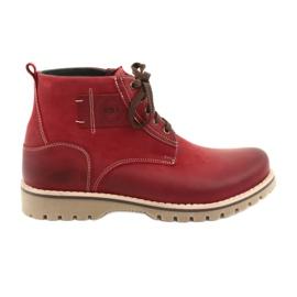 Riko 888 šněrovací zimní boty