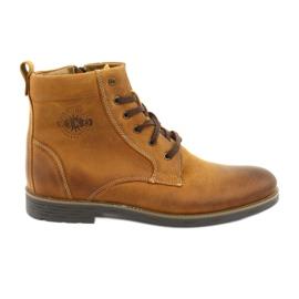 Vysoké boty se zipem Riko 884 bláznivě slunečno