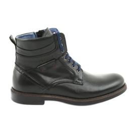 Nikopol 700 zipové černé boty černá