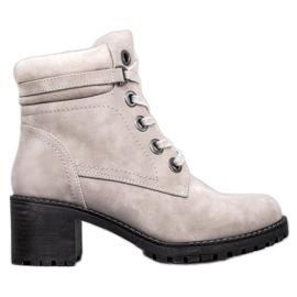 Goodin Izolované kotníkové boty šedá