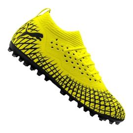 Kopačky Puma Future 4.2 Netfit Mg M 105681-02 žlutý žlutý