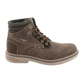 American Club Pánská americká obuv RH35 hnědá hnědý