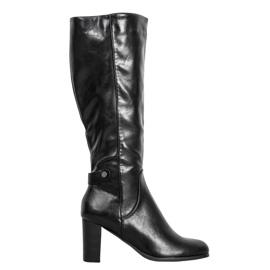 Ekologické kožené boty VINCEZA černá