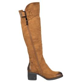 Velbloudské boty VINCEZA hnědý