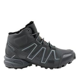 Šedá izolovaná treková obuv BN8810
