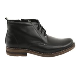 Pánské černé boty Moskała BR-1 černá