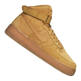 Obuv Nike Air Force 1 High LV8 Gs Jr CK0262-700 hnědý