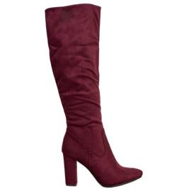 Elegantní boty VINCEZA červená