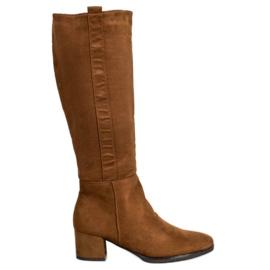 Filippo Klasické hnědé boty hnědý