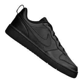 Obuv Nike Jr Court Borough Low 2 (GS) Jr BQ5448-001 černá