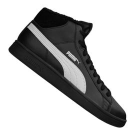 Puma Smash V2 Mid L Fur Jr 366895-05 boty černá