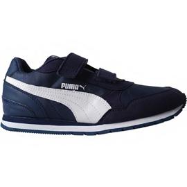 Puma St Runner v2 Nl V Ps Jr 365294 09 boty válečné loďstvo
