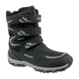 Zimní boty Kappa Great Tex Jr 260558K-1115 černá