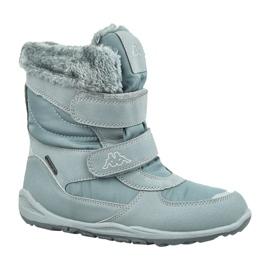 Zimní boty Kappa Gurli Tex Jr 260728K-1615 šedá