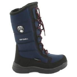 American Club Sněhové boty s membránou Navy Blue American SN12