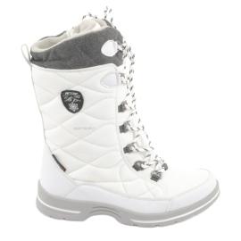 Sněhová obuv s membránou American Club SN08 bílá