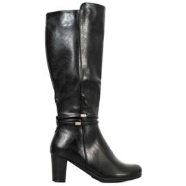 Filippo Teplé černé boty černá