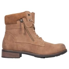Goodin Hnědé boty hnědý