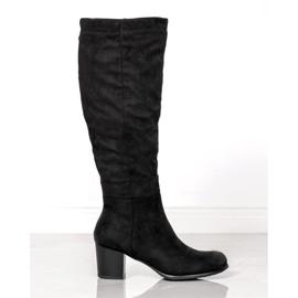 Klasické boty VINCEZA černá
