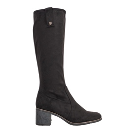 Filippo Klasické boty na poštu černá