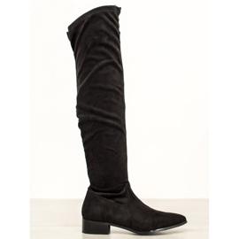 Seastar Příležitostné boty přes koleno černá