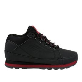 Černé izolované lyžařské boty 9WH917 černá
