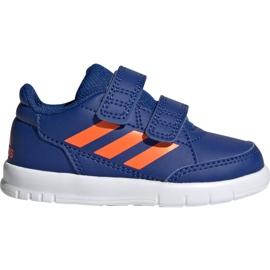 Obuv Adidas AltaSport Cf I Jr G27108 modrý
