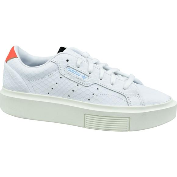 Obuv Adidas Sleek Super W EF1897 bílá bílá